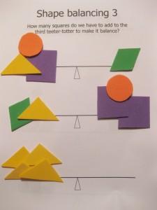 shape balancing